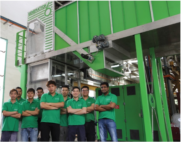 Unicharm Diaper Recycling Technology