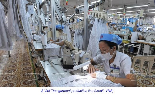 Vietnam Viet Tien garment