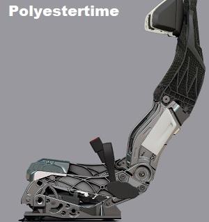 Seats instrument panel Faurecia autonomous vehicle