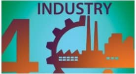 Industry 40 Real World humans machines interact