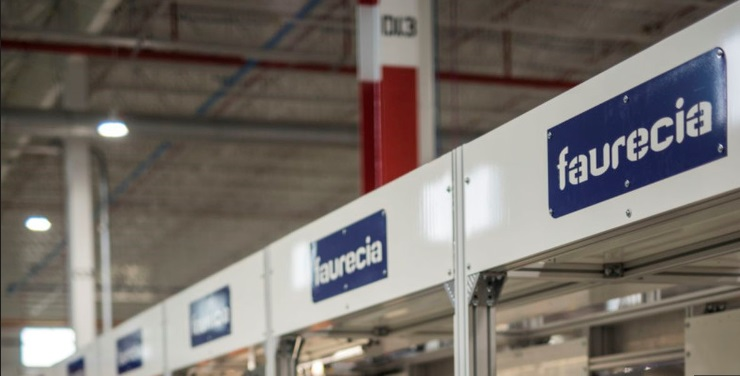 Faurecia interiors plant  automotive