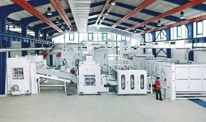 Autefa Solutions Nonwovens Machinery Sales Indian Market