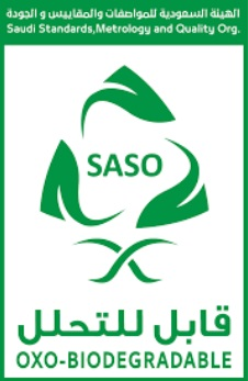 SASO OXOBiodegradable Degradable Plastic Products