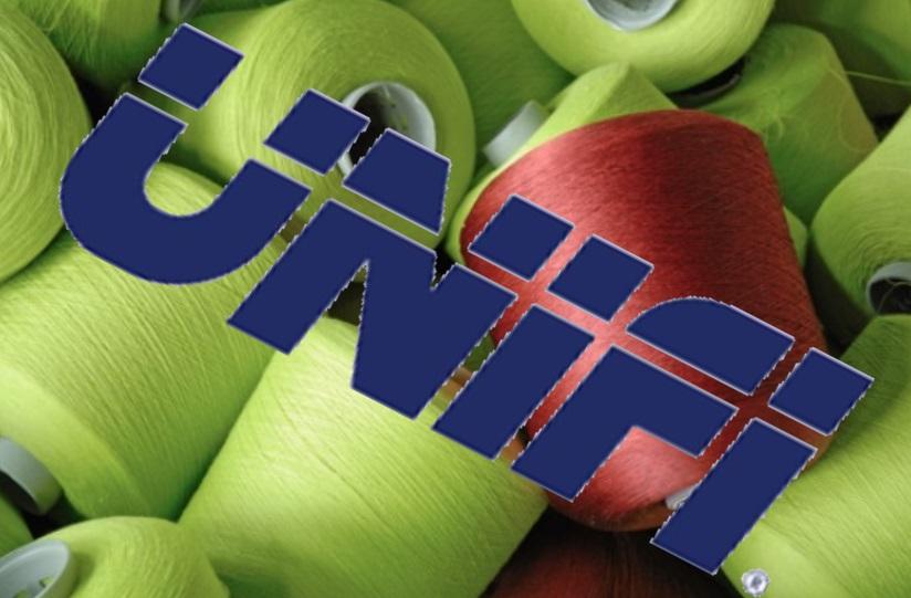 Unifi dyed yarn National Spinning