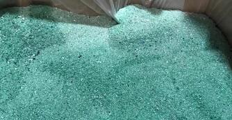 Polyester fiber upcycling technology