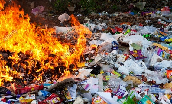 Burning Plastics Dangerous Nervous System