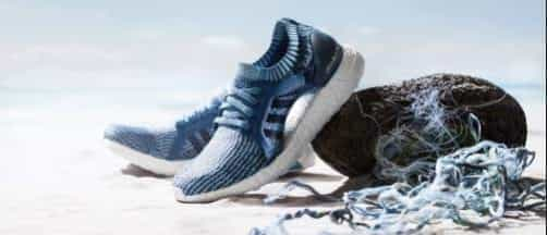 Adidas vows use recycled plastics 2024