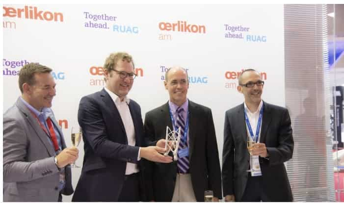 Oerlikon RUAG Ink Space Deal Additive Industries LPW