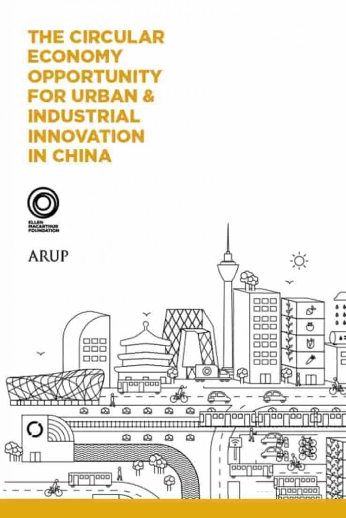 Circular economy urban industrial China