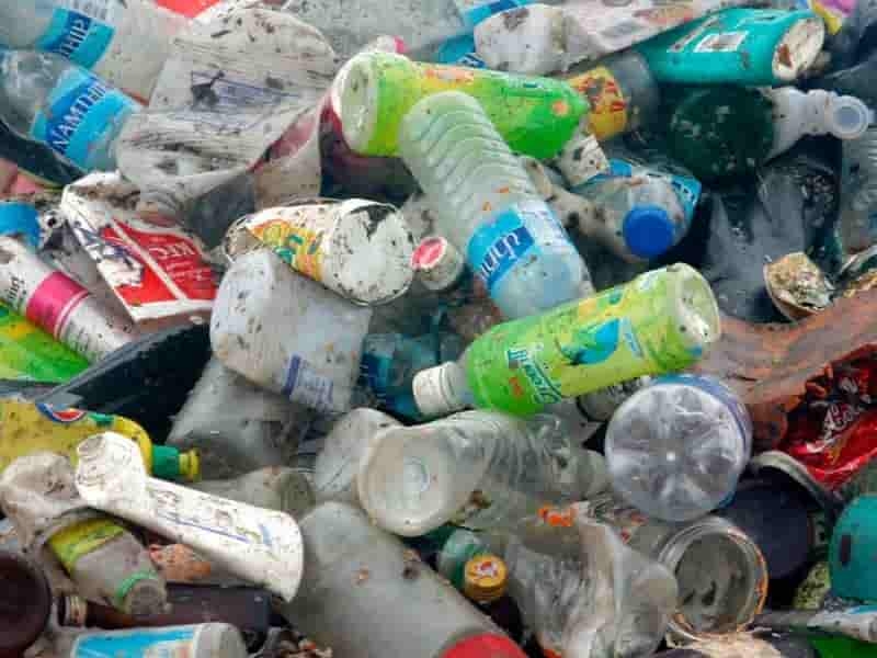 Recycling polyethylene terephthalate PET bottles