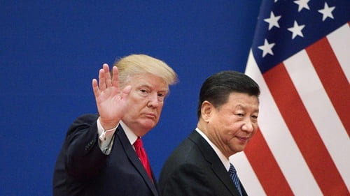 Donald Trump tariffs Chinese goods Monday