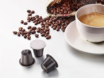 Biodegradable coffee capsule Home Compostable