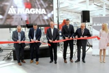 Magna seating plant Czech Republic BMW Europe