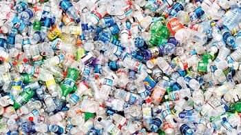 Plastic Petrochemicals rPET bioplastic