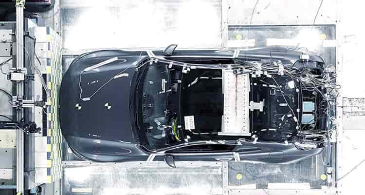 Polestar Carbon Fibre Crash Test