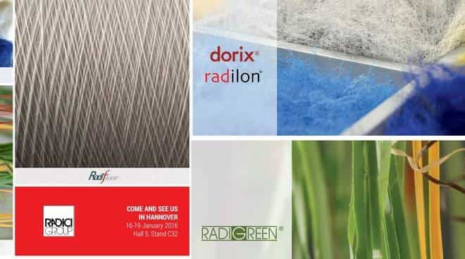 RadiciGroup Performance Yarn Domotex