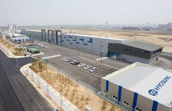 Hyosung carbon fibre manufacturing