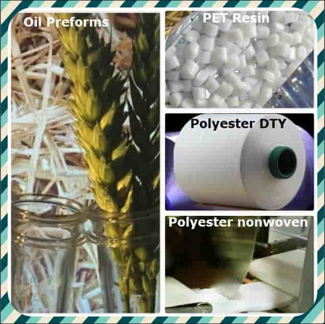 Thermoplastics Petrochemicals PET Resin