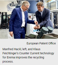 Erema executives win European Inventor Award 2019