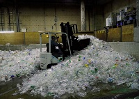 PET Plastic Bottle waste