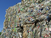 sorting of plastic packaging