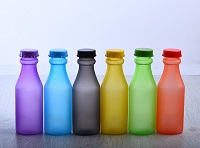 PolyOne additives enable PET bottles to mimic frosted and etched glass