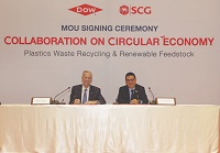 Dow, SCG to make recycled, sustainable products