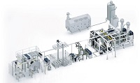 MEAF combines its rPET extruders with Kreyenborg IR-CLEAN system