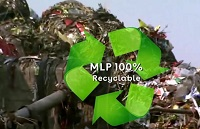 An enzyme based technology for 100% biodegradable polymers/MLP