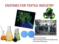 Enzymes to reduce emissions from the textile industry