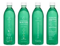 Chlorophyll Water's Bottle Designed to be 100% Landfill Biodgradable