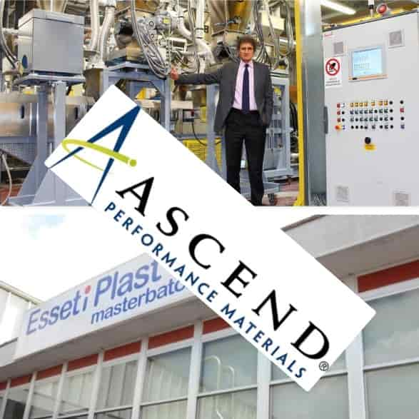 Ascend to purchase compounding and masterbatch businesses of Poliblend and Esseti Plast
