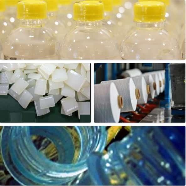 Petrochemical Plastics Polyamides rPET