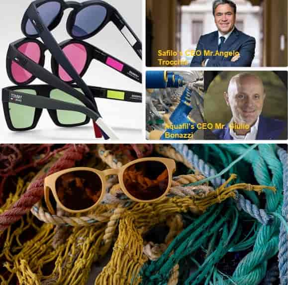 Safilo and Aquafil in partnership for eco-sustainable eyewear