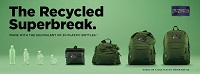 -JanSport Launches the Recycled SuperBreak, their First Backpack with 100% Recycled Fabric