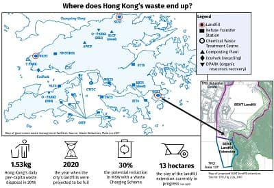 Coronavirus: How Hong Kong's dramatic drop in recycling sets a dangerous new norm