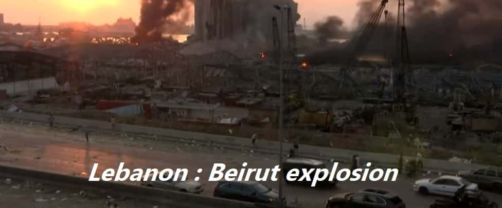 Beirut explosion: World reacts to deadly blast in Lebanon capital