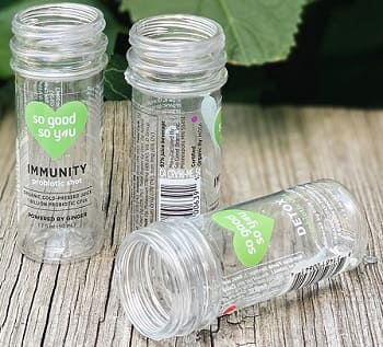 A Beverage First: Wellness Shots Bottled in Biodegradable PET