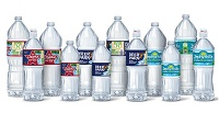 Nestle Waters rPET brands and rPET bottlesNWNA