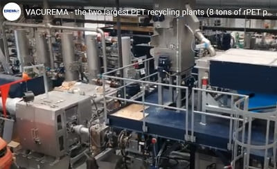 EREMA PET RECYCLING EQUIPMENT FEATURED IN ENVASES UNIVERSALES GROUP PET RECYCLING FACILITY