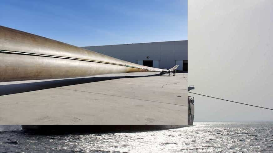 Covestro and partners develop world's first 64.2 metre full PU wind turbine blade