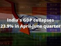 India's Covid-19 cases hit record as economy slumps