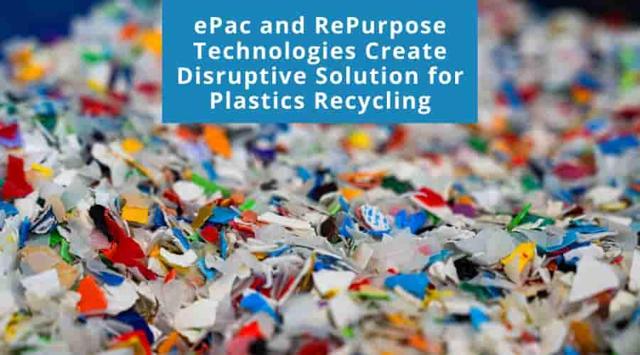 nnovative Companies Partner to Solve Plastics Waste Crisis