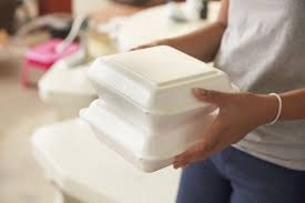 Polystyrene can be circulated back to raw-material