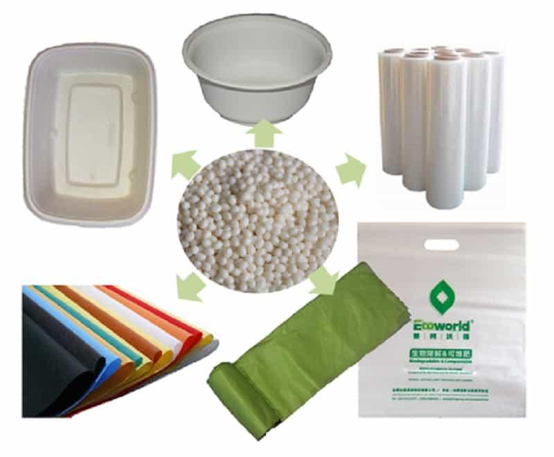 Biodegradable plastic PBAT develops rapidly