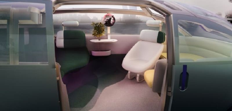 Mini Vision Urbanaut concept starts with the interior