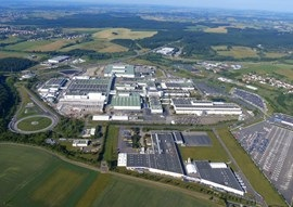 INEOS Mercedes-Benz site in Hambach, France.