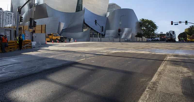 Major LA Street Paved Using Recycled Plastic Asphalt