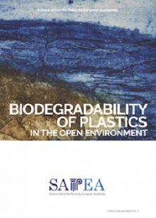 Biodegradability of plastics in the open environment Biodegradable plastics are not a 's