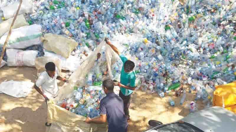 Recycling PET plastic waste: Towards a circular economy